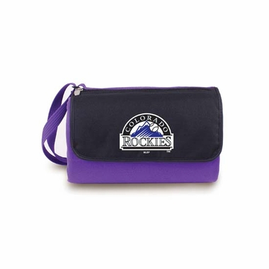 Colorado Rockies Blanket Tote (Purple)