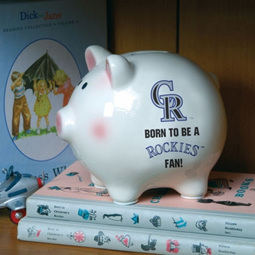 Colorado Rockies (Born to Be) Piggy Bank