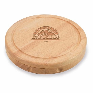 Colorado Rockies Brie Cheese Board