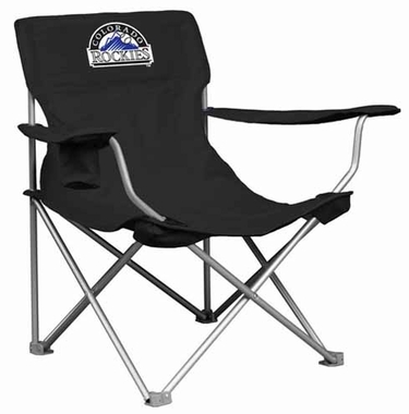 Colorado Rockies Canvas Adult Folding Logo Chair