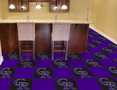 Colorado Rockies Carpet Tiles