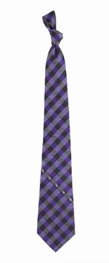Colorado Rockies Check Poly Necktie