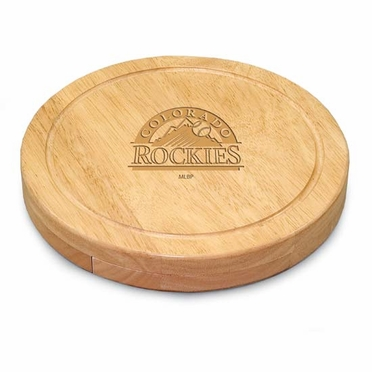 Colorado Rockies Circo Cheese Board