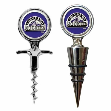 Colorado Rockies Corkscrew and Stopper Gift Set