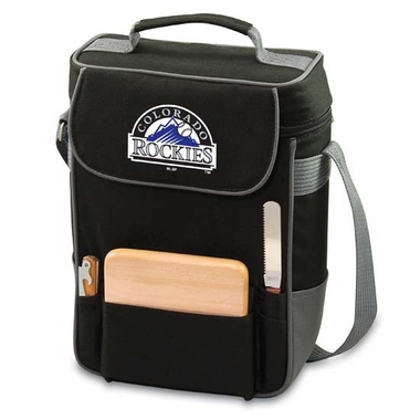 Colorado Rockies Duet Compact Picnic Tote (Black)