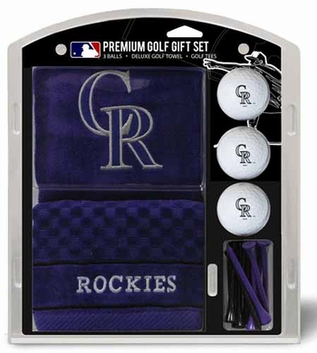 Colorado Rockies Embroidered Towel Gift Set