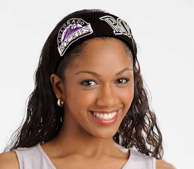 Colorado Rockies FanBand Hair Band