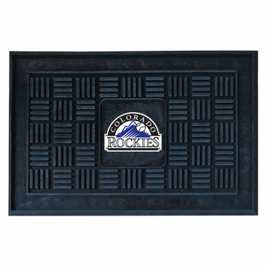 Colorado Rockies Heavy Duty Vinyl Doormat