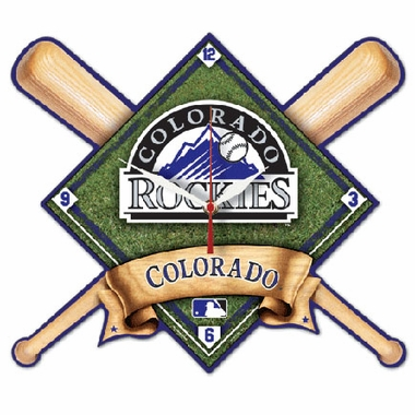 Colorado Rockies High Definition Wall Clock