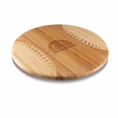 Colorado Rockies Homerun Cutting Board