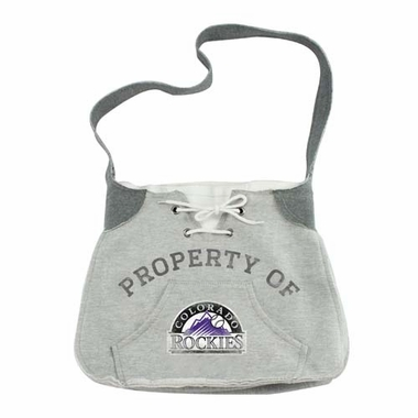 Colorado Rockies Hoodie Sling Purse
