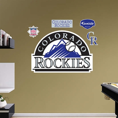 Colorado Rockies Logo Fathead Wall Graphic