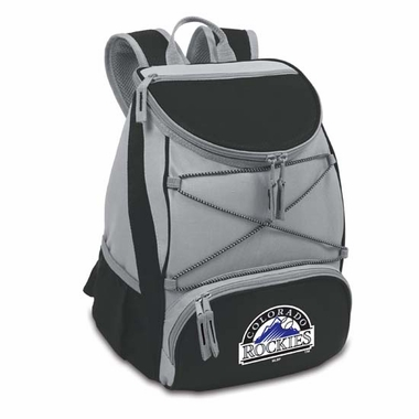 Colorado Rockies PTX Backpack Cooler (Black)