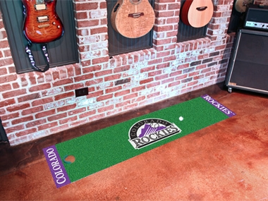 Colorado Rockies Putting Green Mat