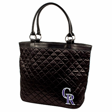 Colorado Rockies Quilted Tote