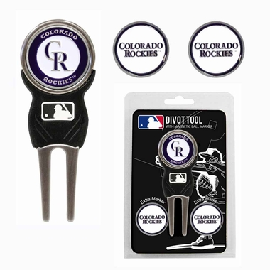 Colorado Rockies Repair Tool and Ball Marker Gift Set