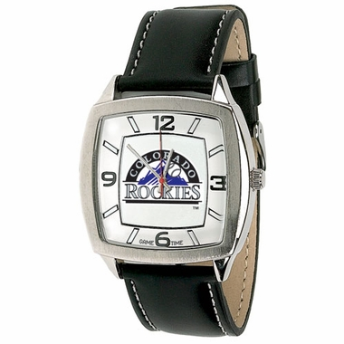 Colorado Rockies Retro Mens Watch