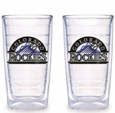 Colorado Rockies Set of TWO 16 oz. Tervis Tumblers