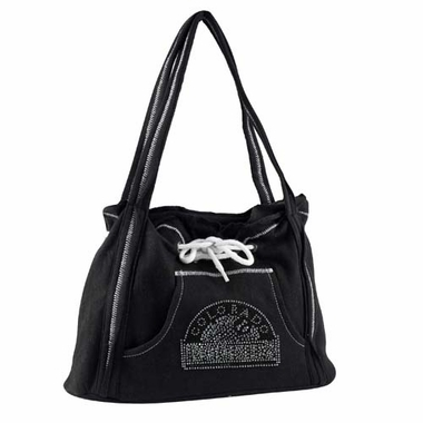Colorado Rockies Sport Noir Hoodie Purse
