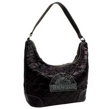 Colorado Rockies Sport Noir Quilted Hobo