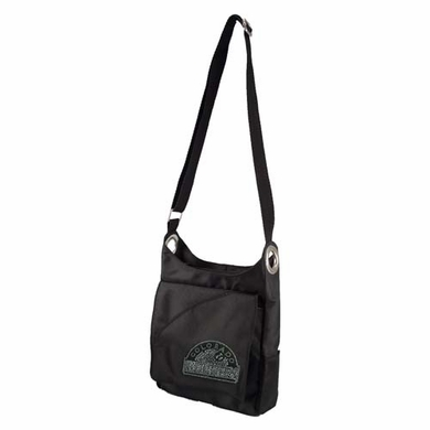 Colorado Rockies Sport Noir Sheen Crossbody Bag
