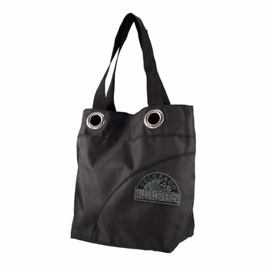 Colorado Rockies Sport Noir Sheen Tote