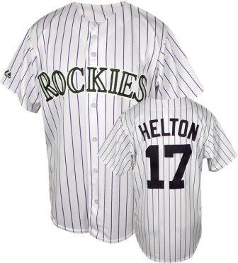 Colorado Rockies Todd Helton Replica Player Jersey
