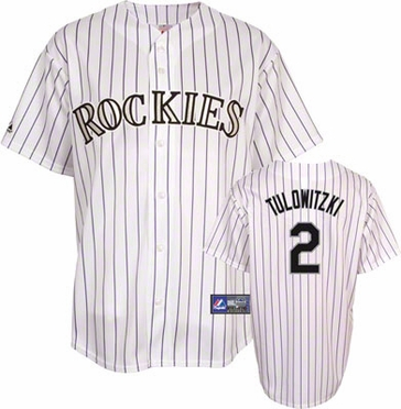 Colorado Rockies Troy Tulowitzki YOUTH Replica Player Jersey