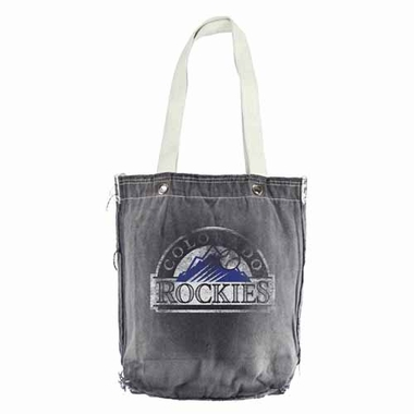 Colorado Rockies Vintage Shopper (Black)