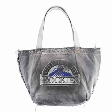 Colorado Rockies Vintage Tote (Black)