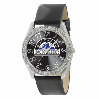 Colorado Rockies Women's Glitz Watch