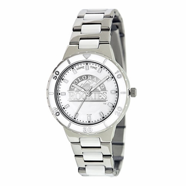 Colorado Rockies Women's Pearl Watch