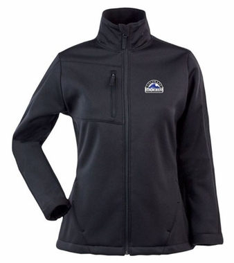 Colorado Rockies Womens Traverse Jacket (Team Color: Black)