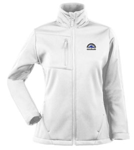 Colorado Rockies Womens Traverse Jacket (Color: White) - Large