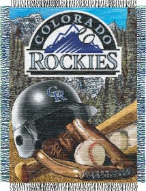 Colorado Rockies Woven Tapestry Throw Blanket