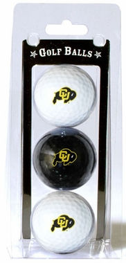 Colorado Set of 3 Multicolor Golf Balls