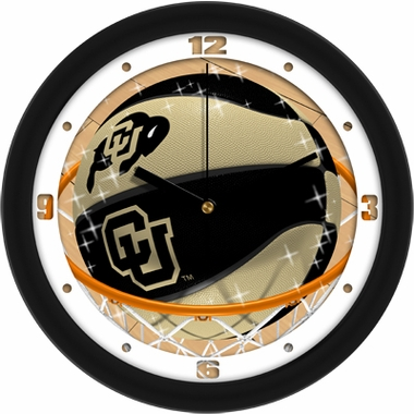 Colorado Slam Dunk Wall Clock