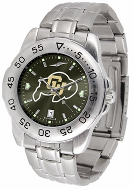 Colorado Sport Anonized Men's Steel Band Watch