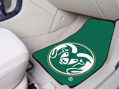 Colorado State 2 Piece Car Mats