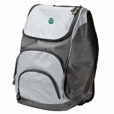 Colorado State Action Backpack (Color: Grey)
