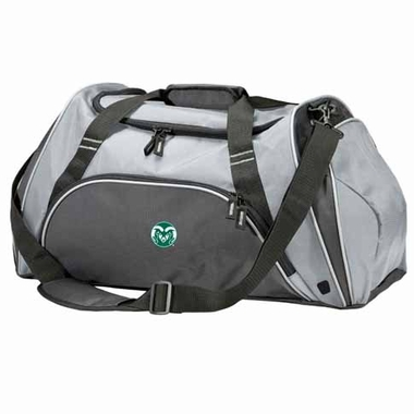 Colorado State Action Duffle (Color: Grey)