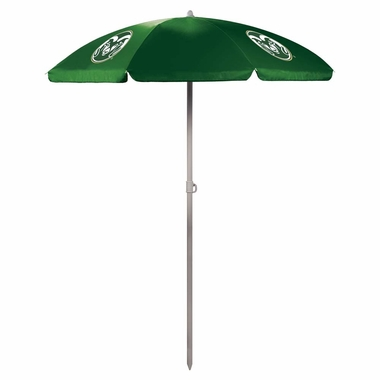 Colorado State Beach Umbrella (Hunter Green)