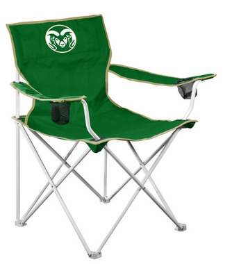 Colorado State Deluxe Adult Folding Logo Chair