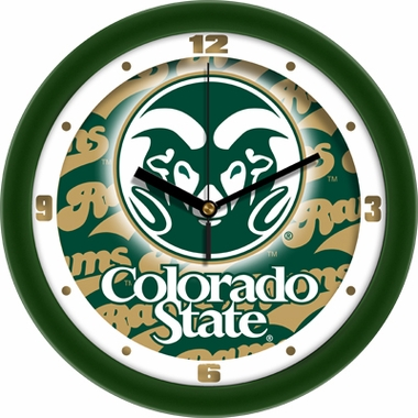 Colorado State Dimension Wall Clock