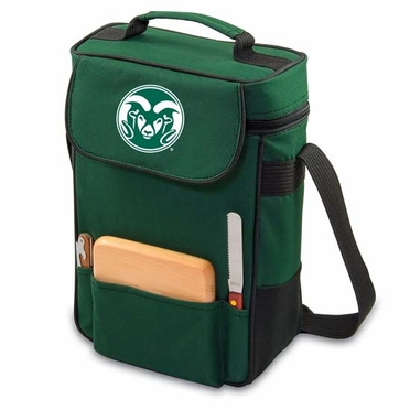 Colorado State Duet Compact Picnic Tote (Hunter Green)