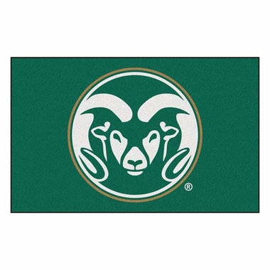 Colorado State Economy 5 Foot x 8 Foot Mat