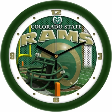 Colorado State Helmet Wall Clock