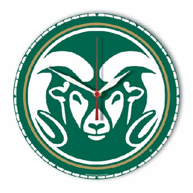 Colorado State High Definition Wall Clock (Logo)