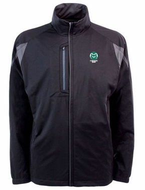 Colorado State Mens Highland Water Resistant Jacket (Team Color: Black)