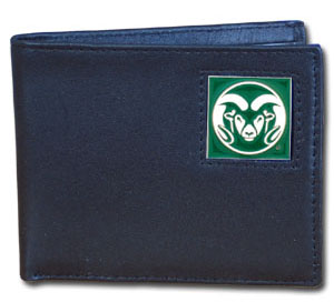 Colorado State Leather Bifold Wallet (F)